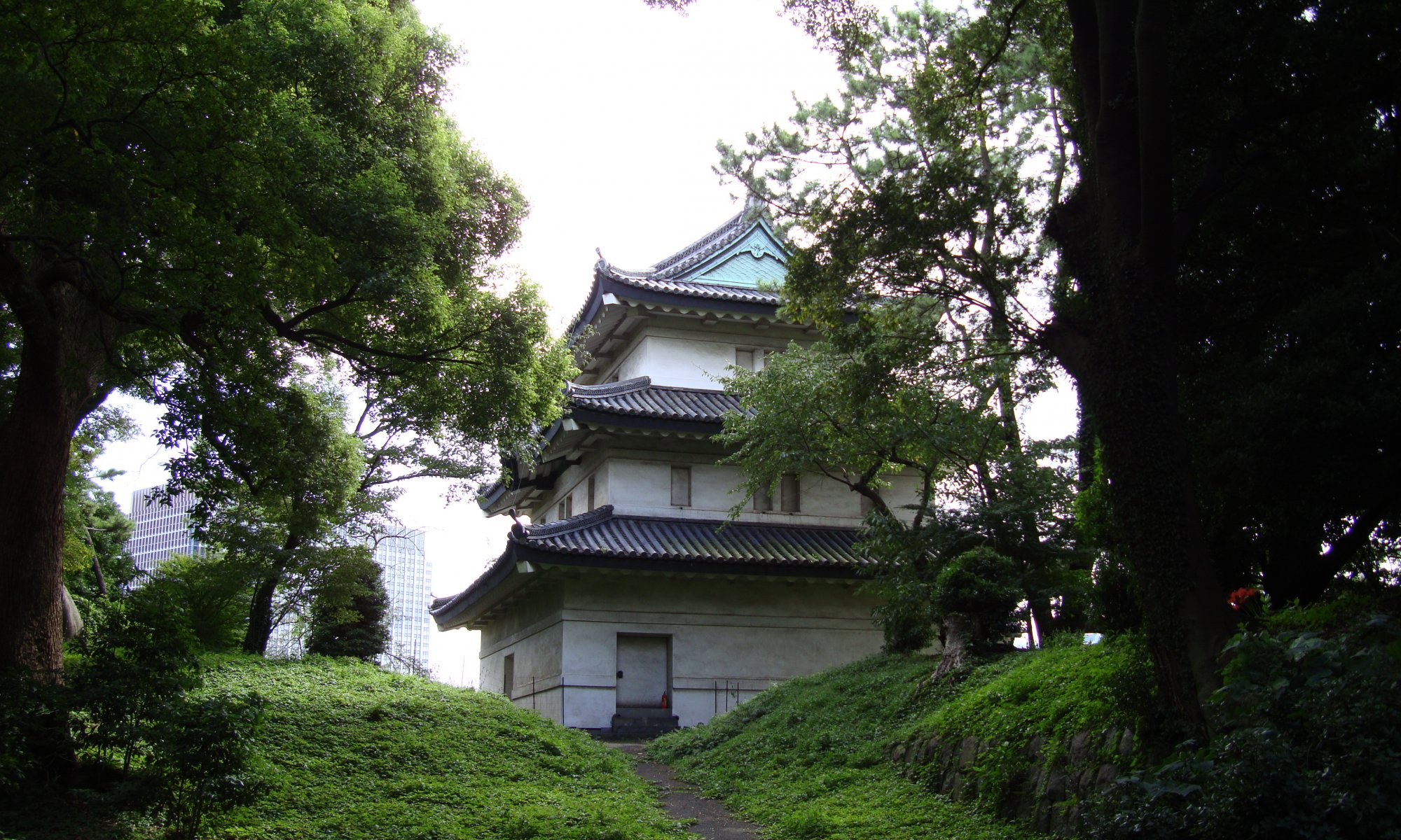 Imperial Palace, Tōkyō, Japan