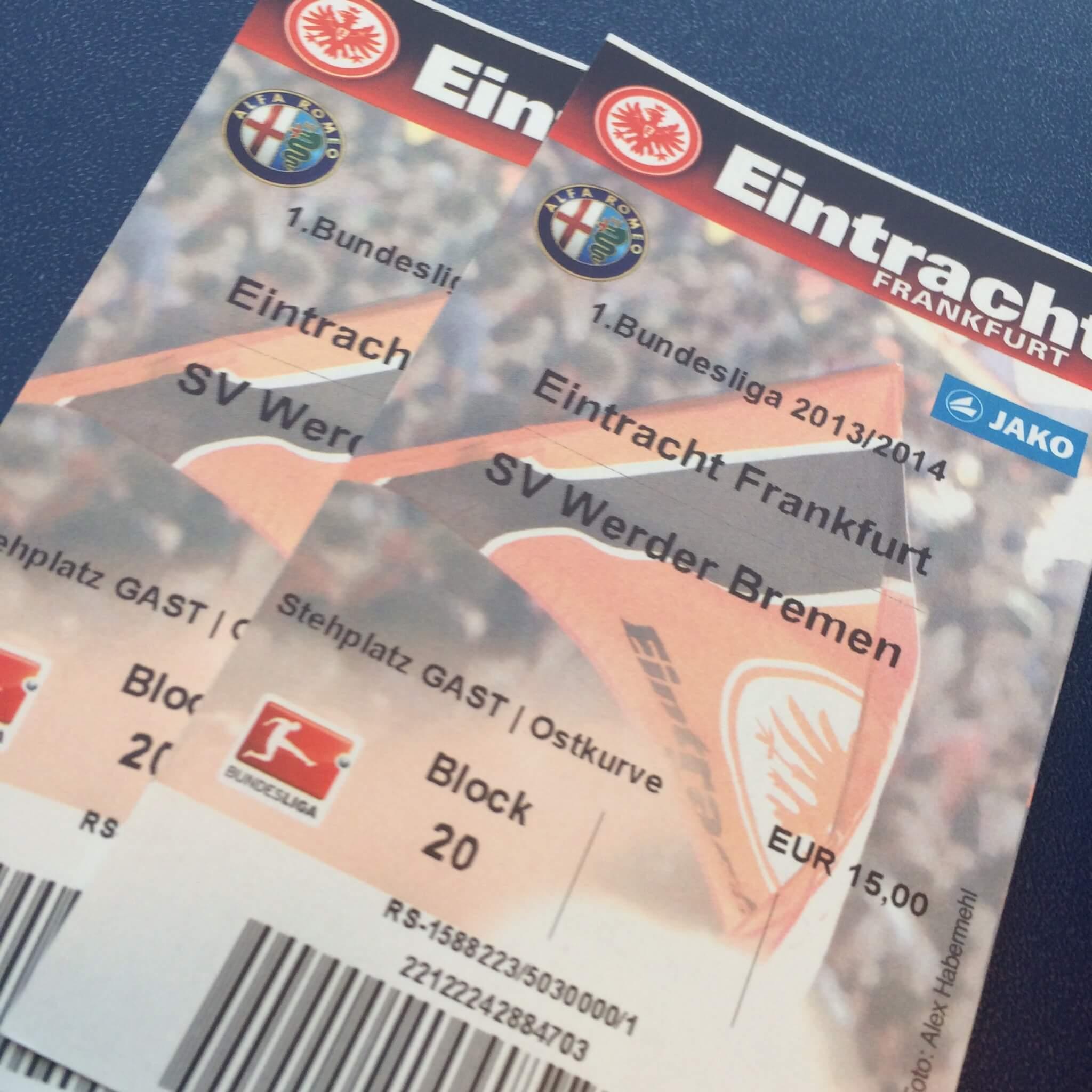 Eintracht Frankfurt - SV Werder Bremen