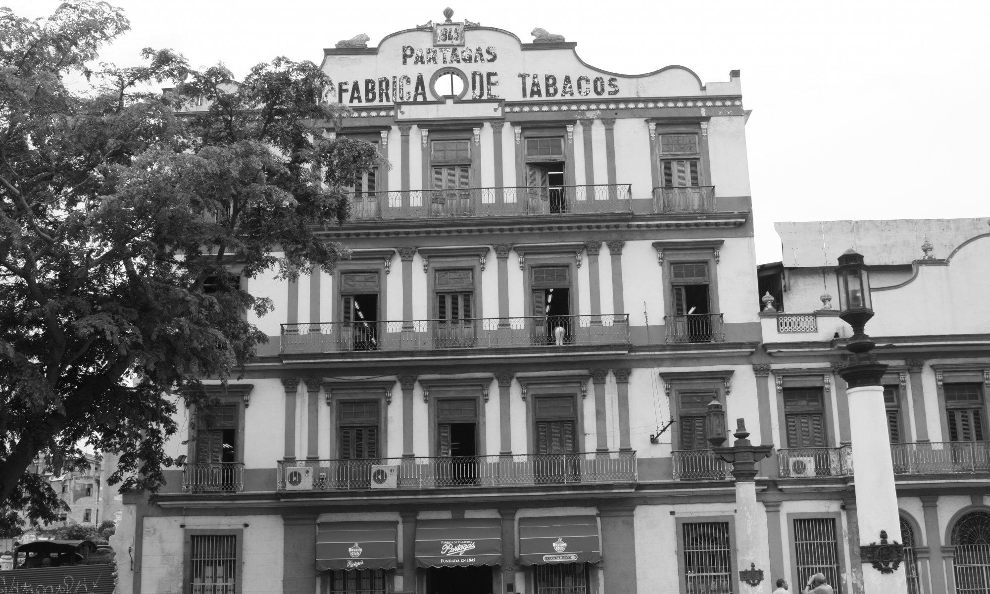 Real Fábrica de Tabacos Partagás, La Habana, Cuba