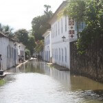 Paraty, flooded