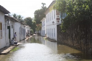 Paraty, flooded