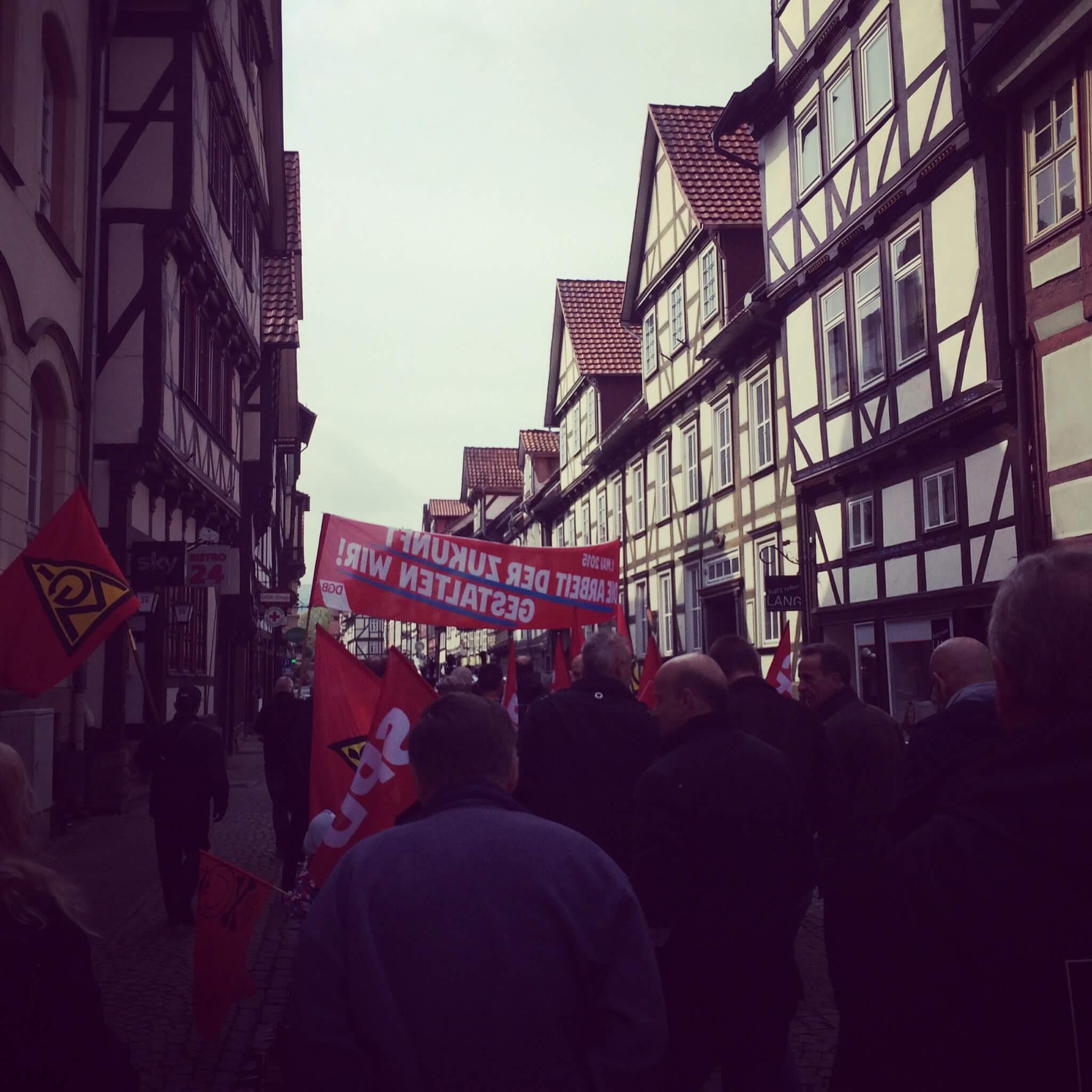 Labour Day in Hann. Münden