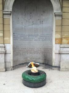 Eternal flame, Sarajevo