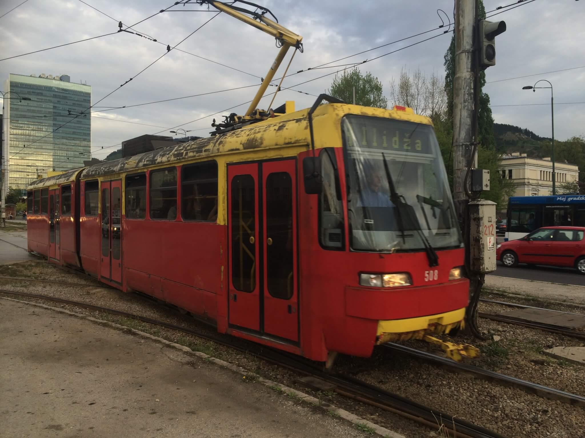 Tramway in Sarajevo