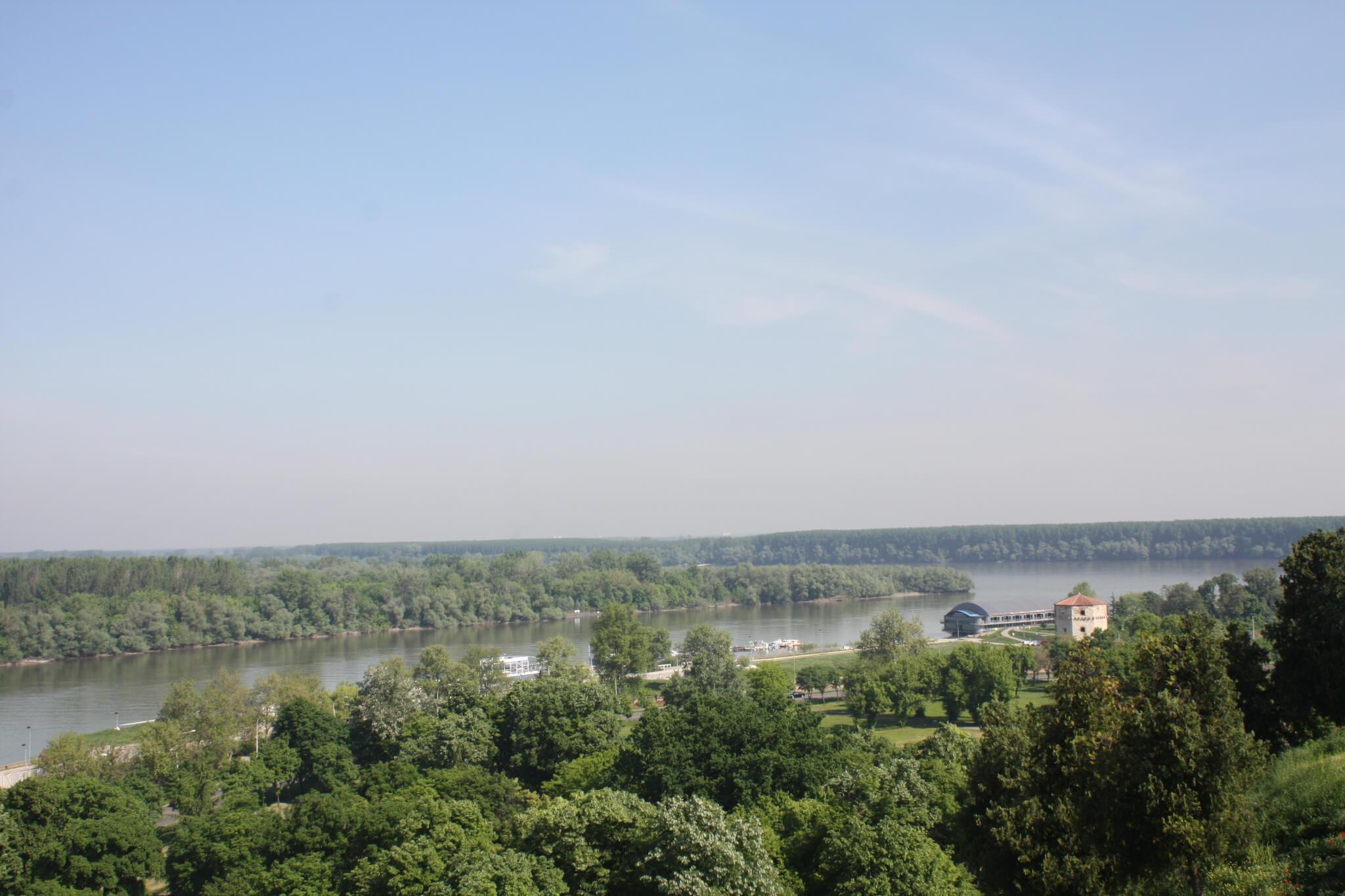 Danube and Sava, Beograd