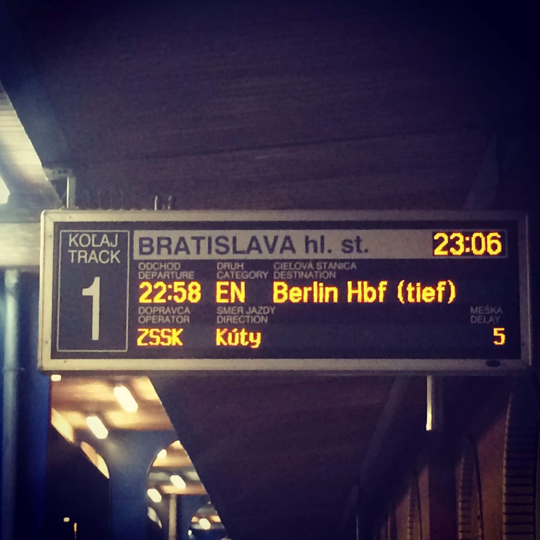 Bratislava - Berlin