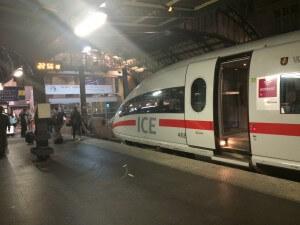ICE en Gare de l'Est, Paris