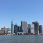 New York as seen from Governors Island