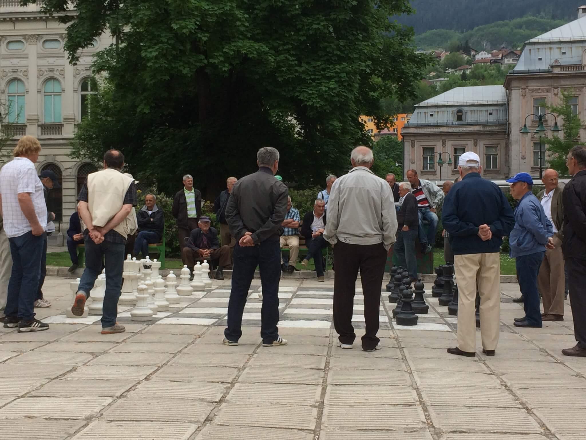 Chess experts, Sarajevo