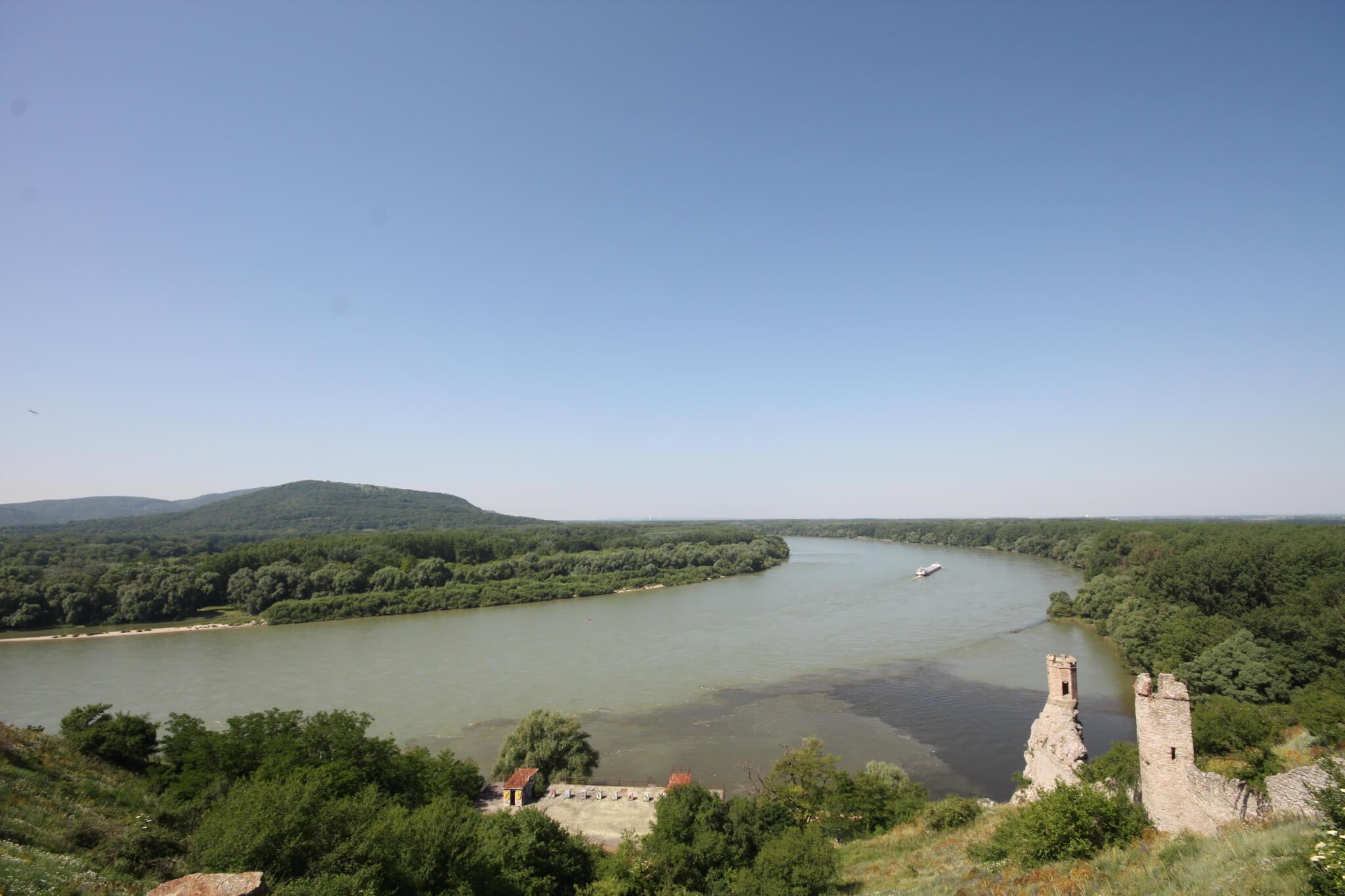 Danube, Devín