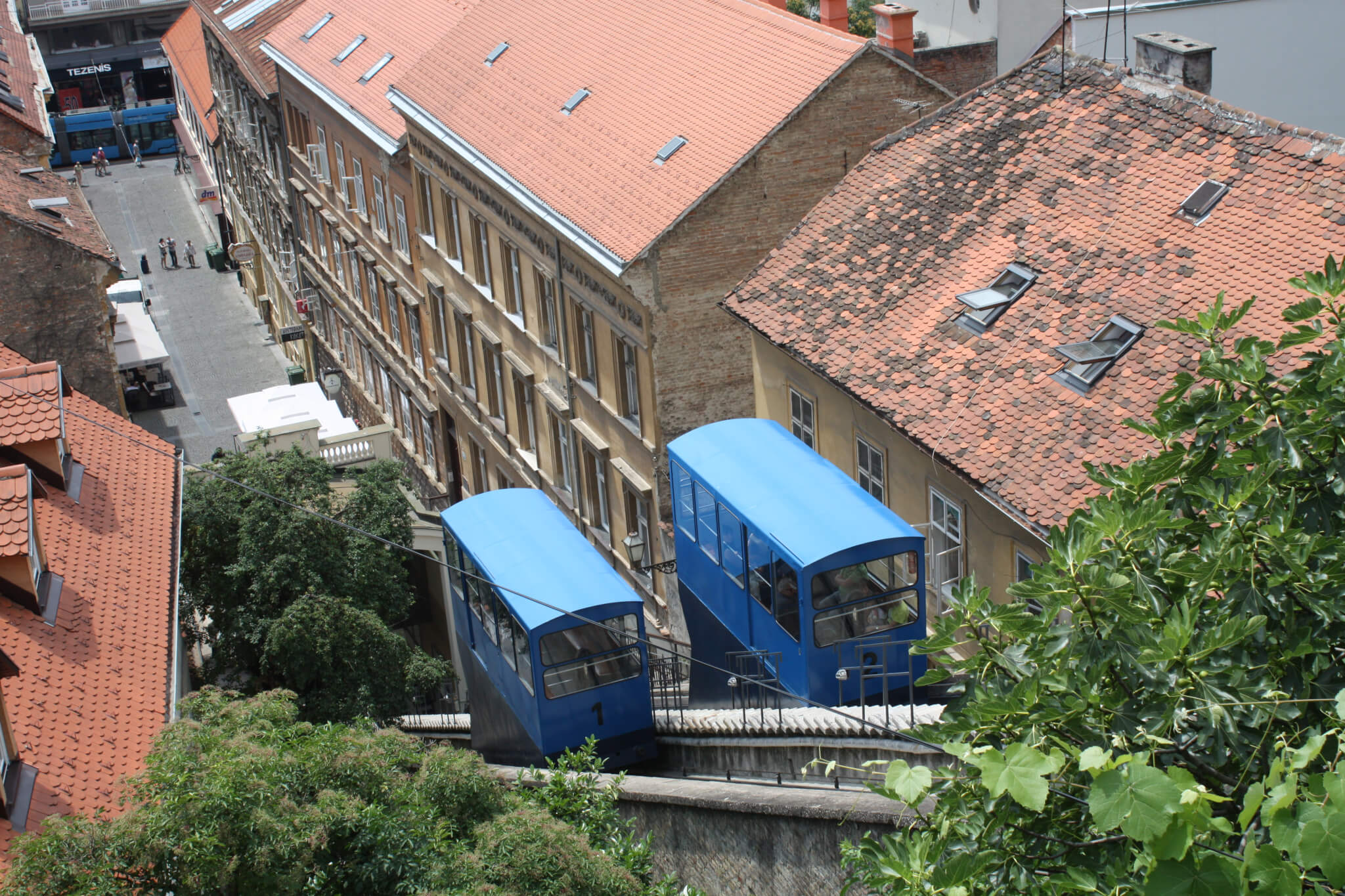 Uspinjača, Zagreb