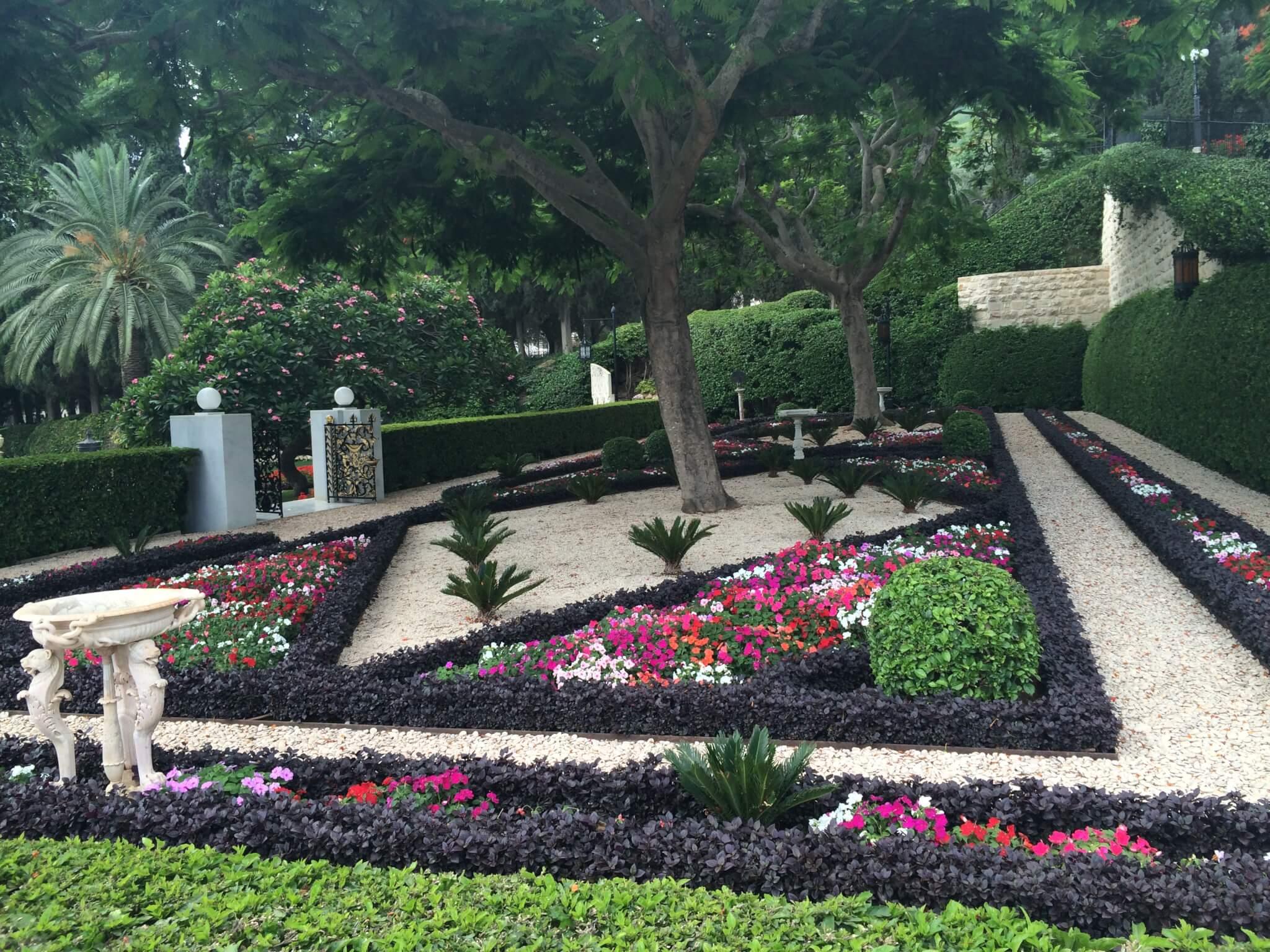 Persian gardens, Haifa