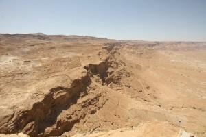 Roman base camp close to Masada