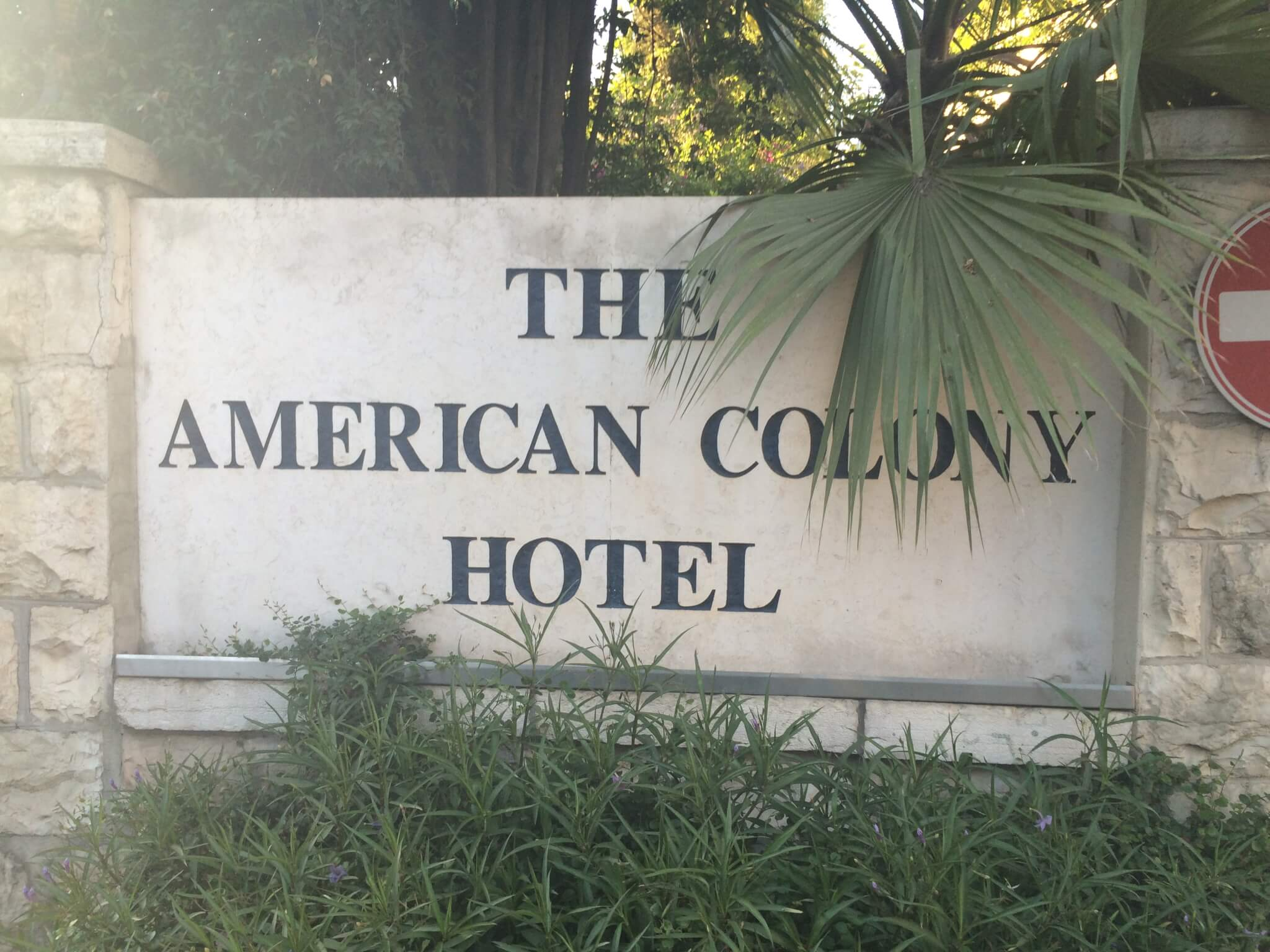 The American Colony Hotel, Jerusalem