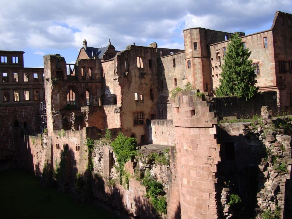 Heidelberg castle, Heidelberg