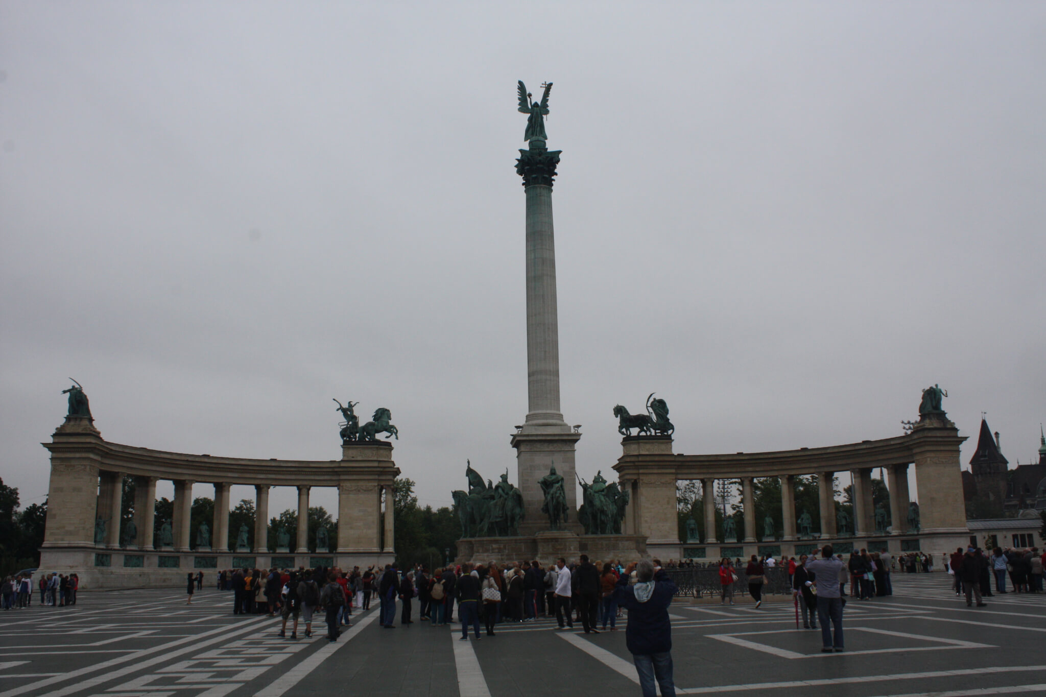Heroes' Square, Budapest