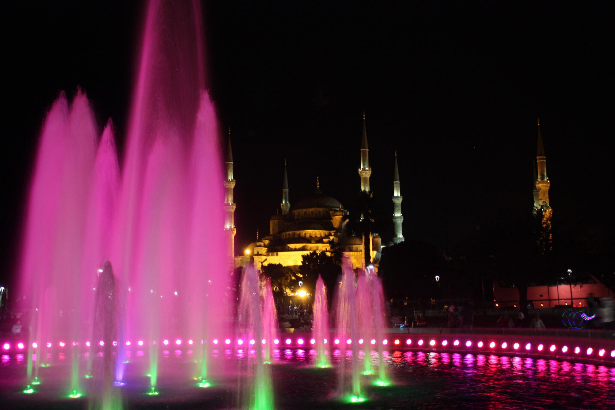 Sultan Ahmet Parkı, Istanbul