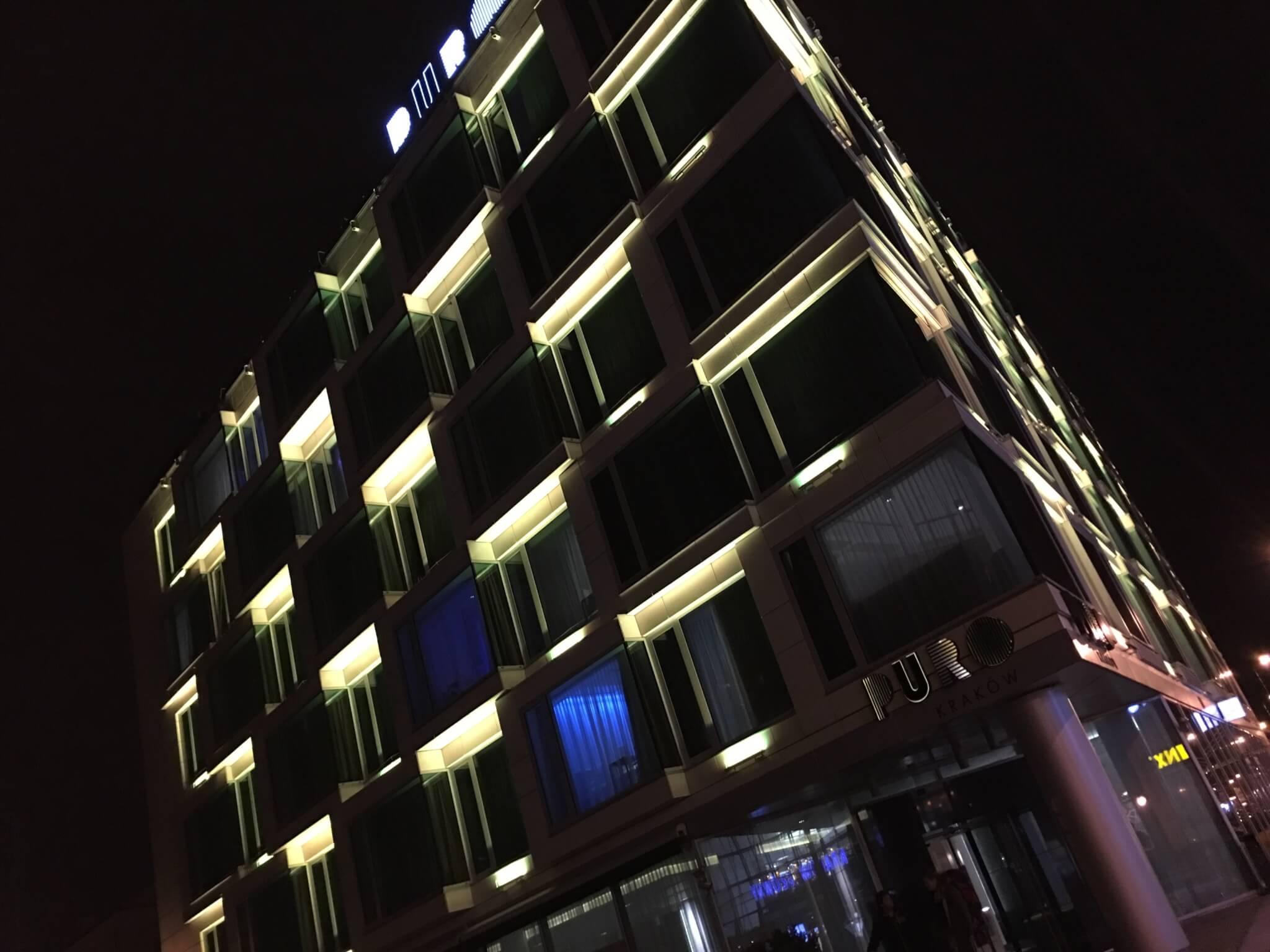 Puro hotel, Kraków