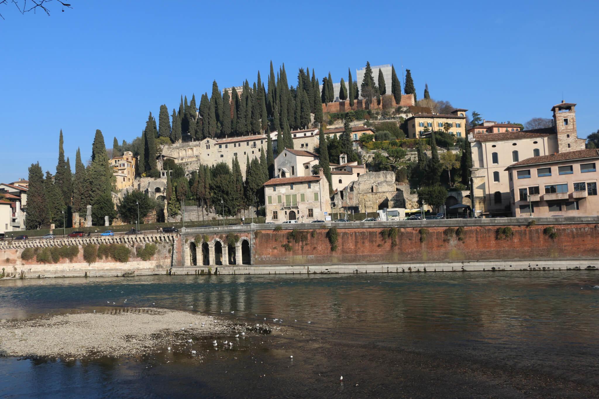 Adige, Verona