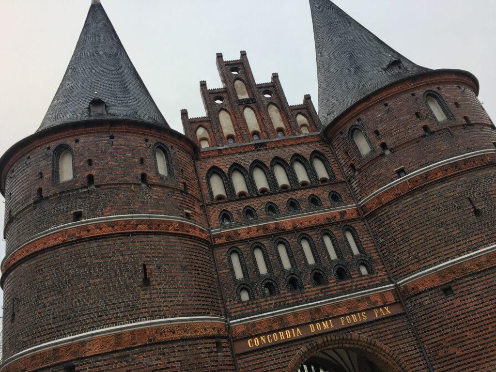 Holsten gate, Lübeck