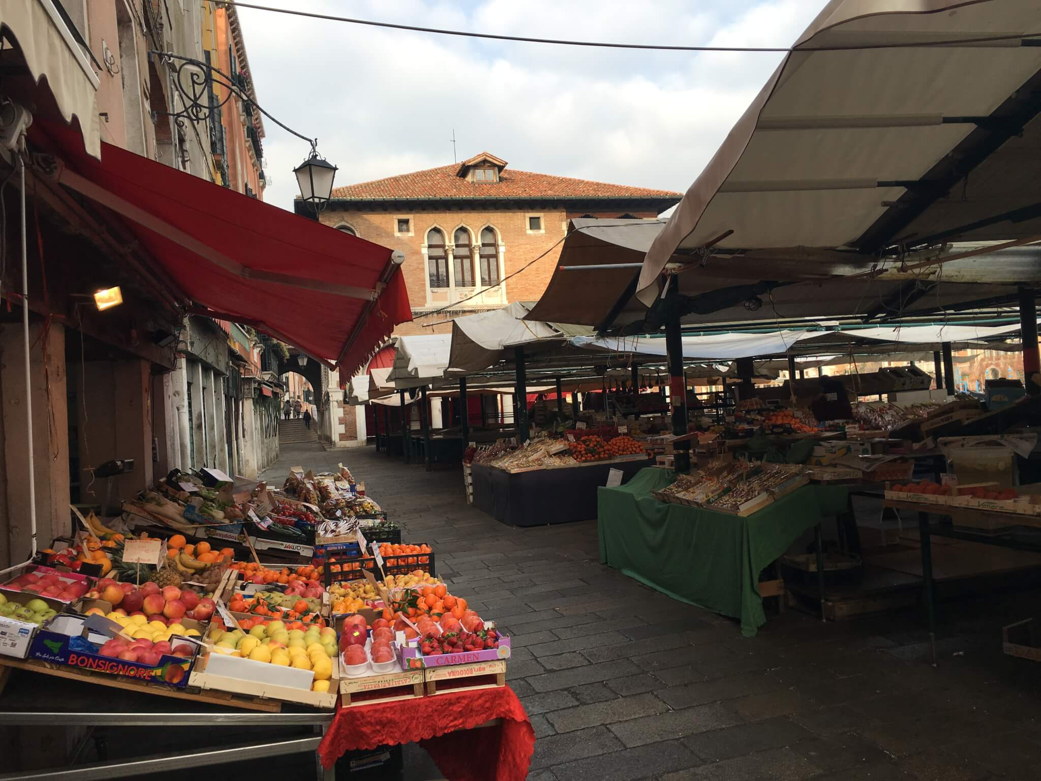 Market, Rialto, Venezia