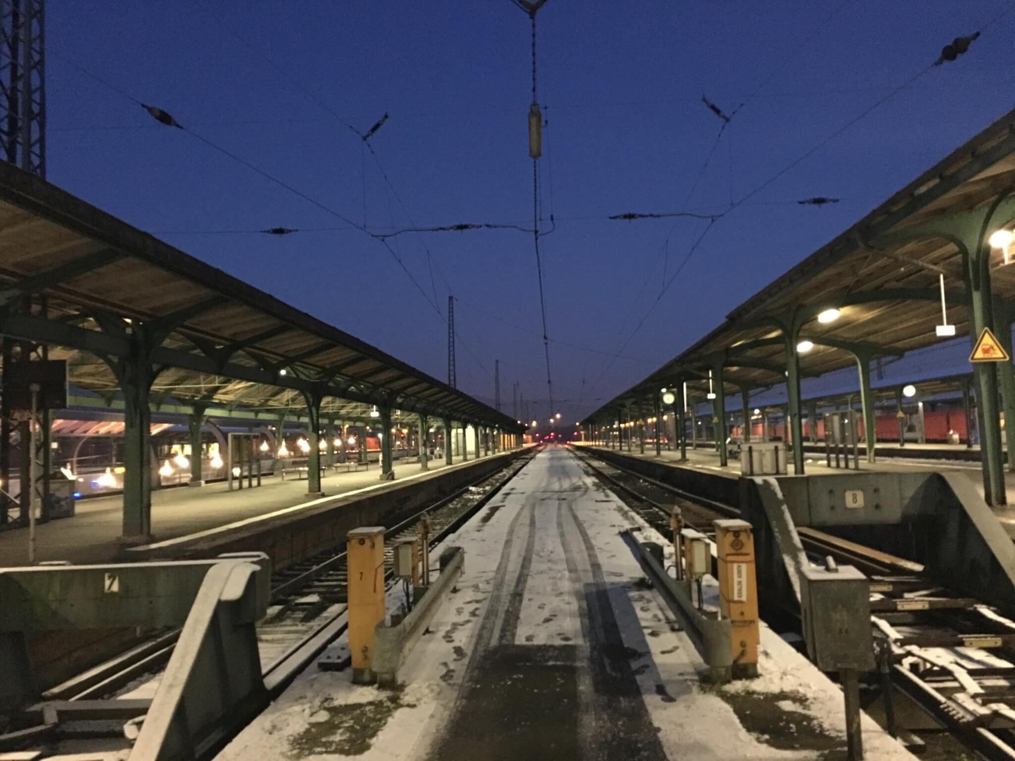 Hauptbahnhof / Kulturbahnhof, Kassel