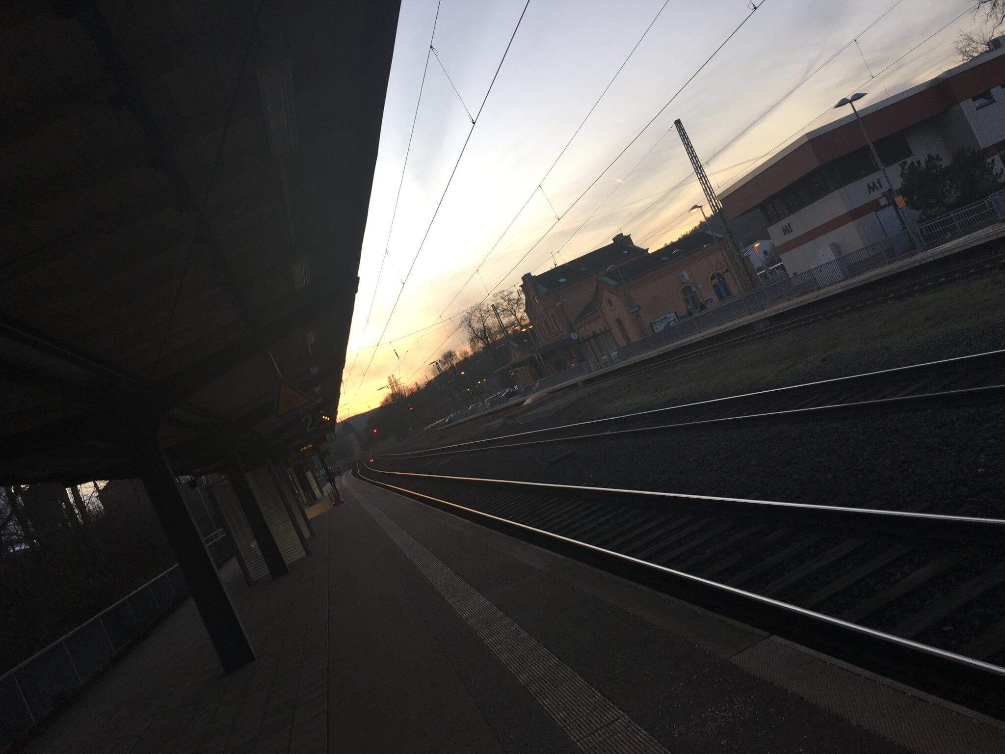 Railway station, Hann. Münden