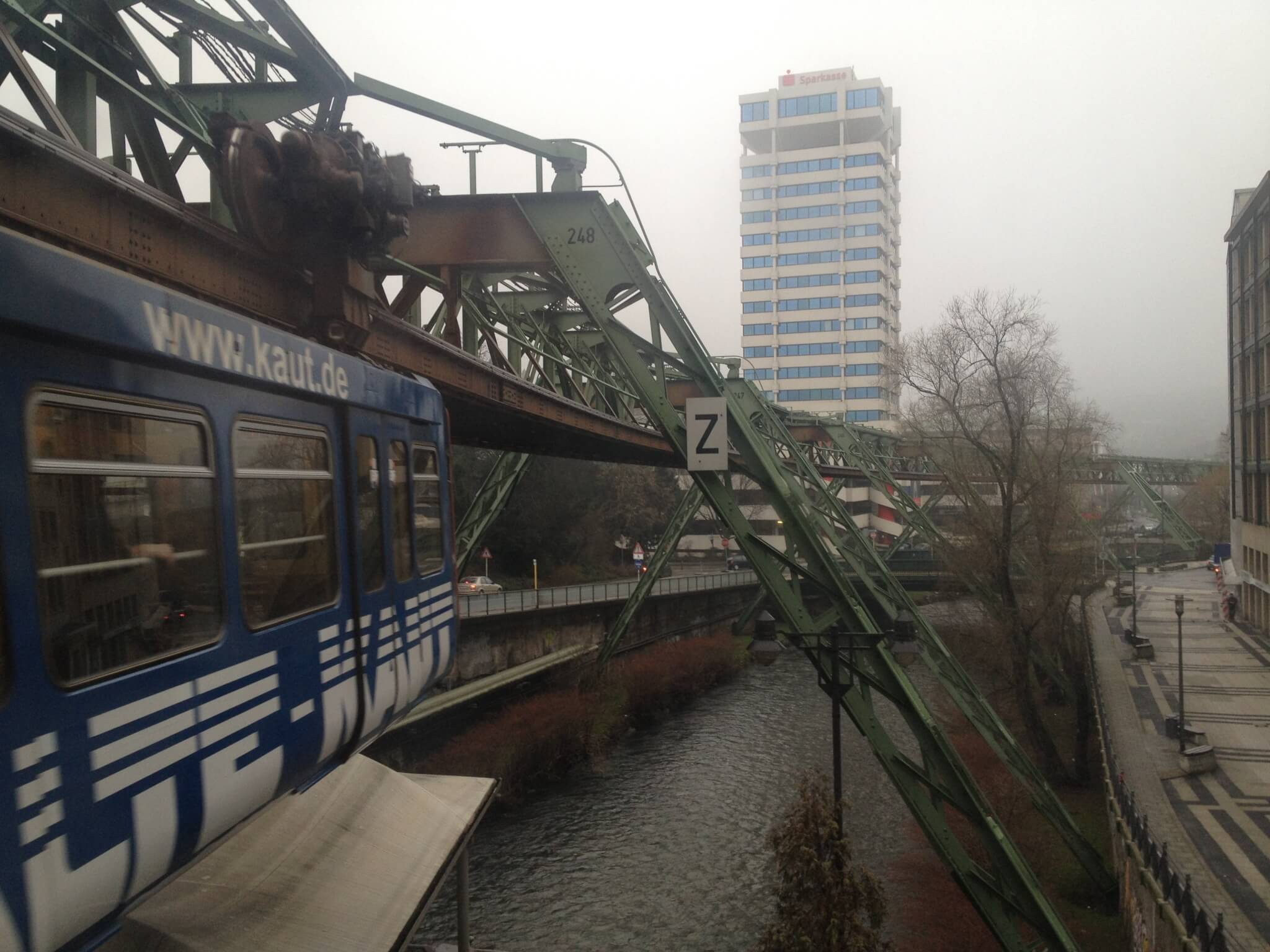 Suspension railway, Wuppertal
