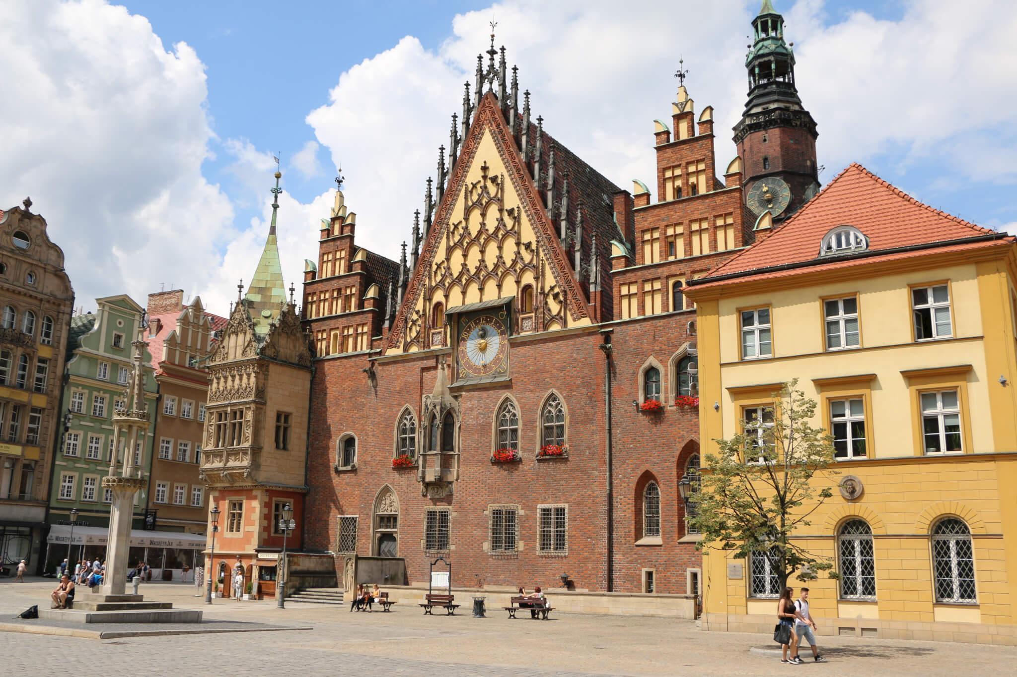 Ratusz, Wroclaw