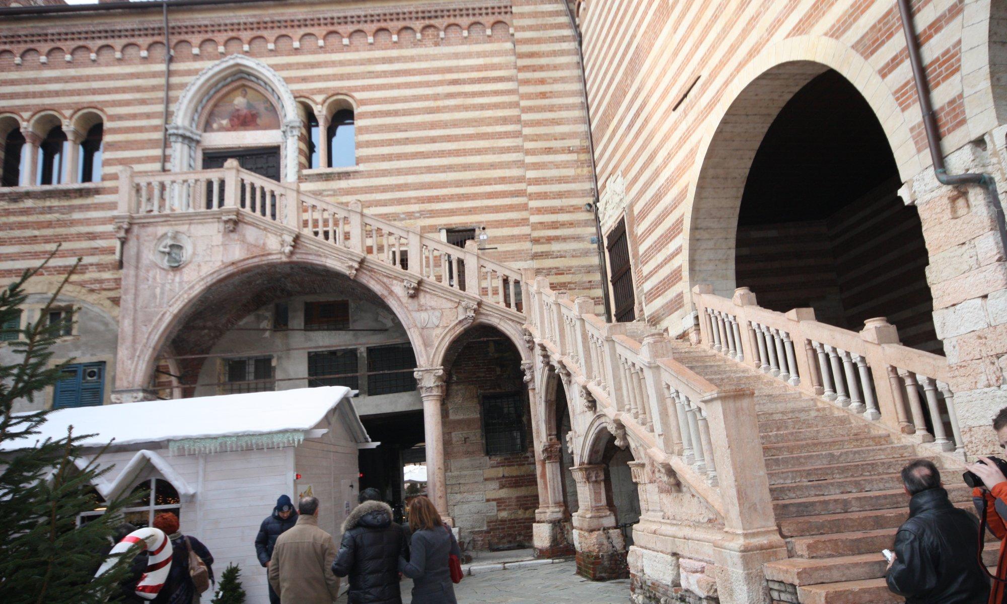Scala della Ragione, Verona