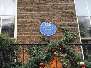 221b Baker street, London, England, United Kingdom