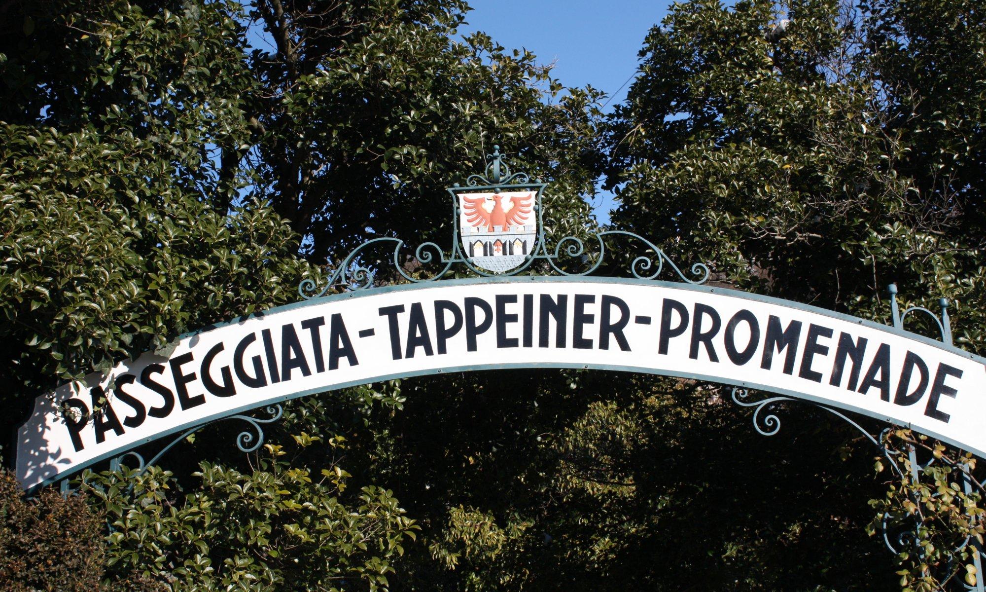 Tappeiner-Promenade, Merano
