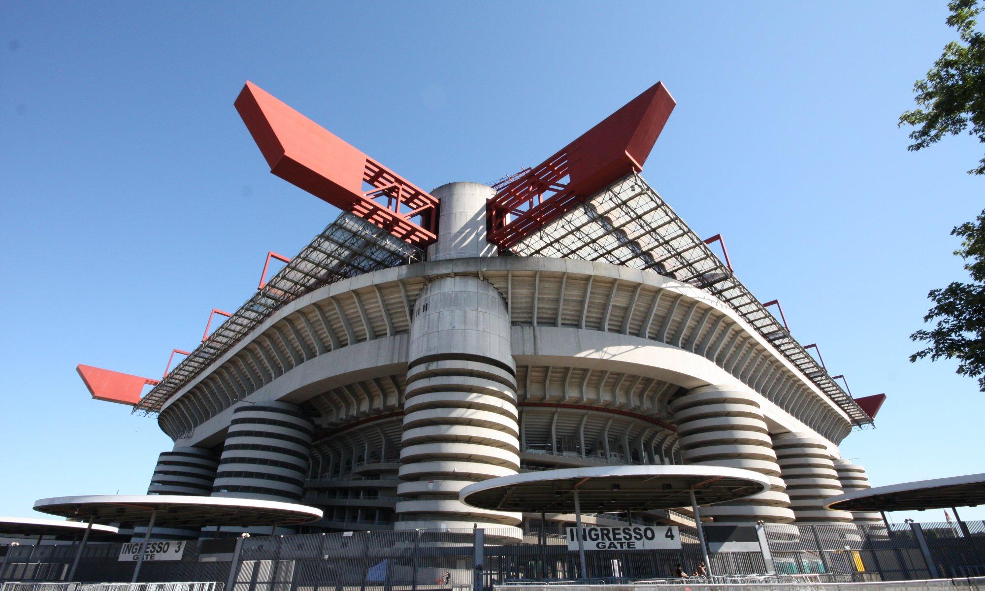 Stadio Giuseppe Meazza, Milano, Italy