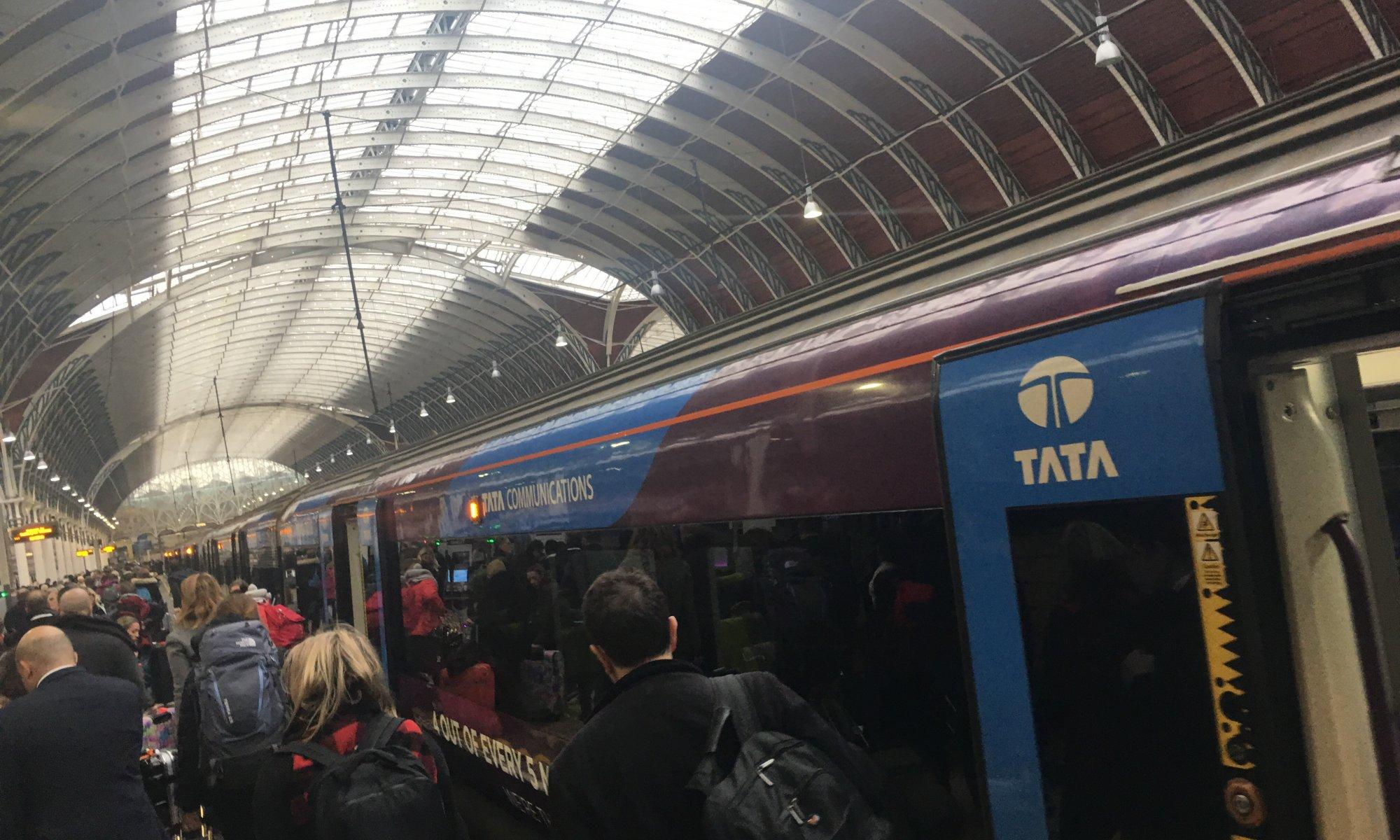 Heathrow Express, London, England