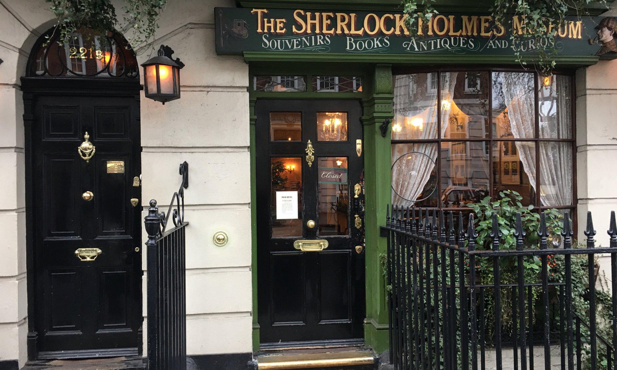 Baker street, London, England