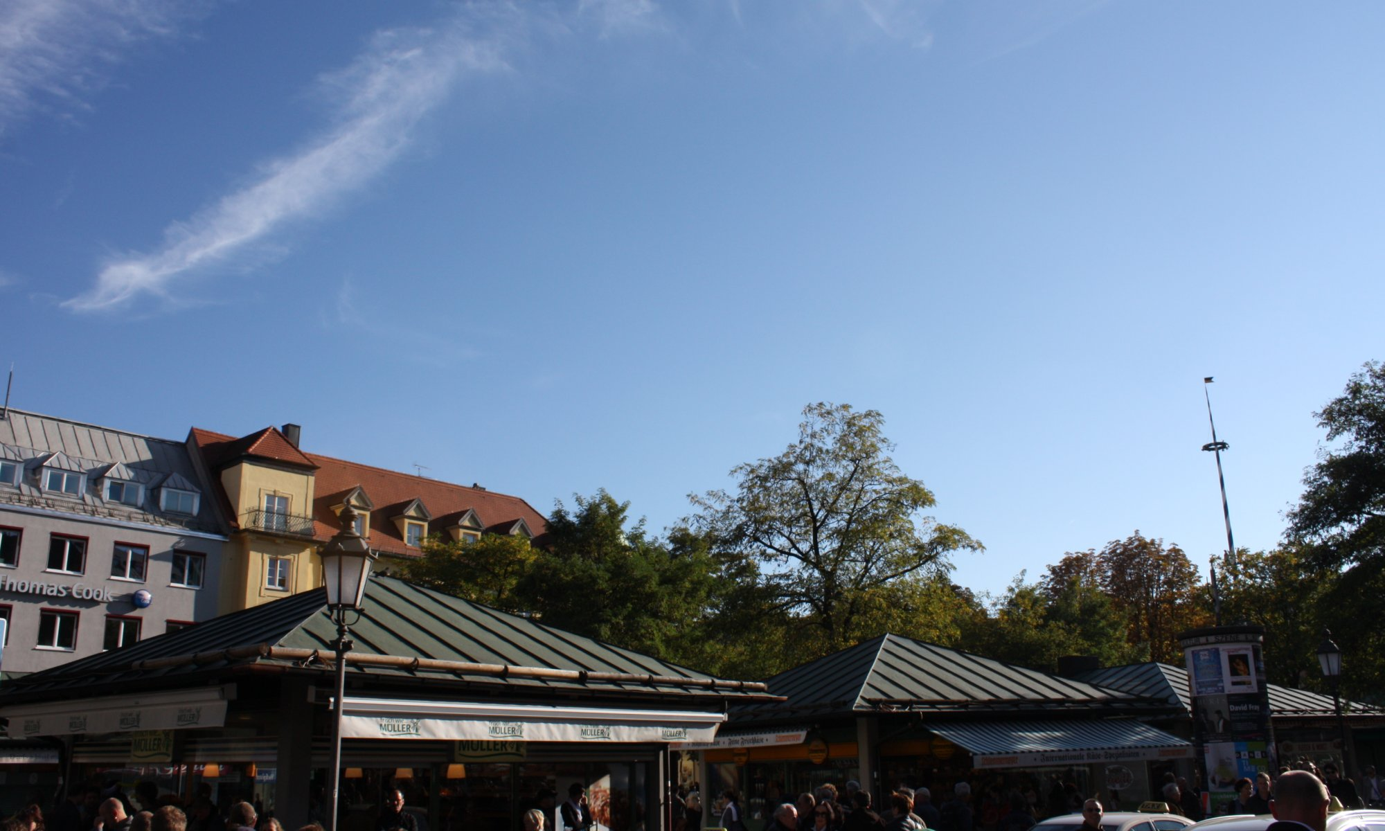 Viktualienmarkt, München, Germany