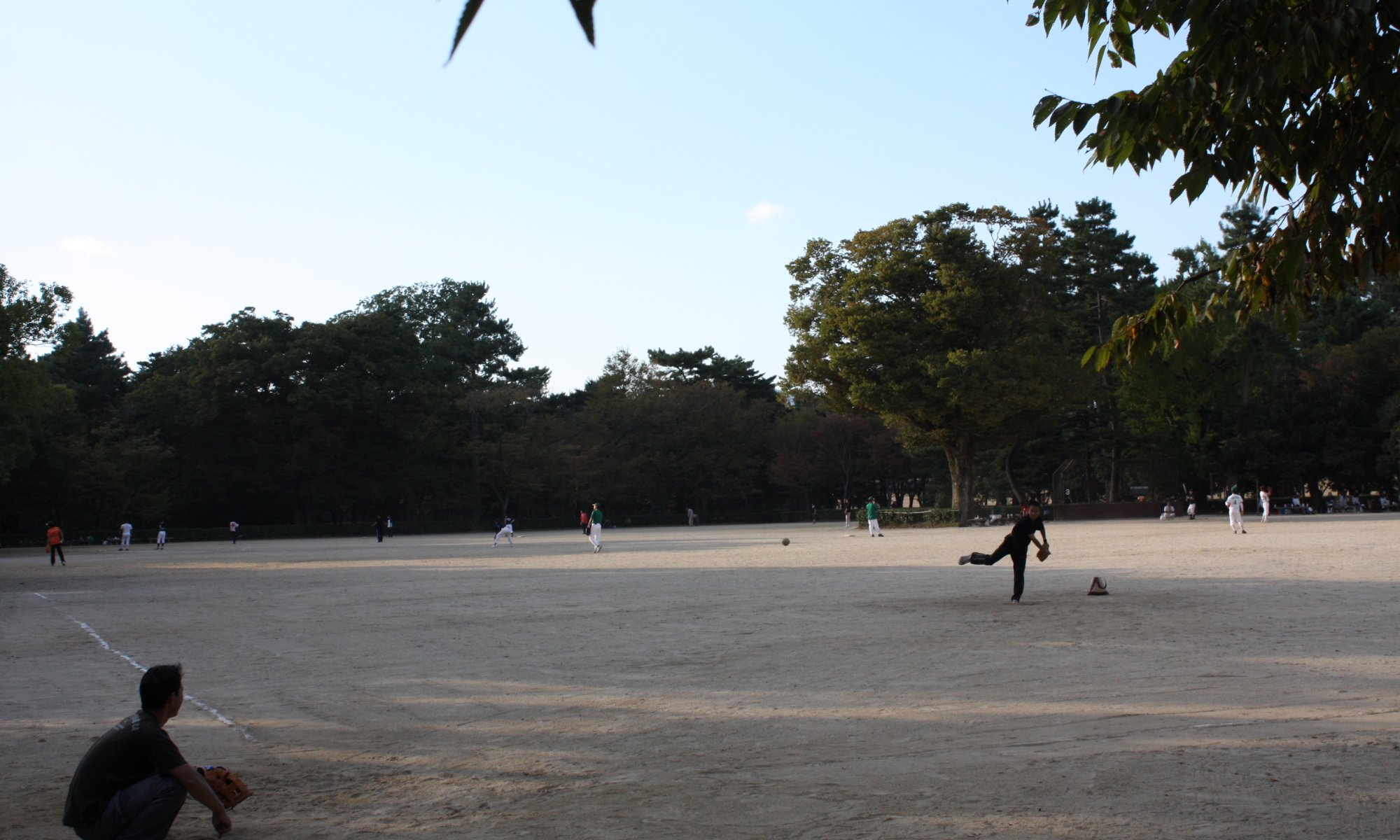 Baseball, Kyōto, Japan