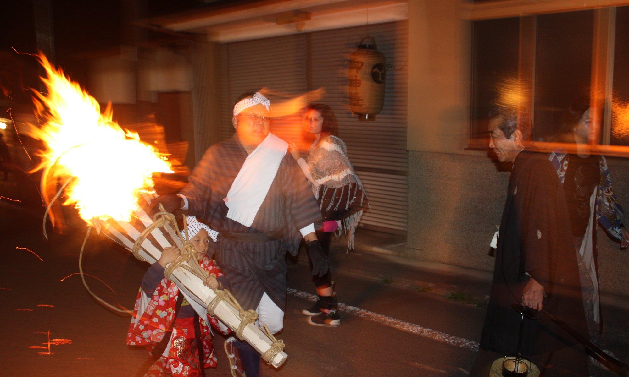 Kurama no Hi-Matsuri, Kyōto