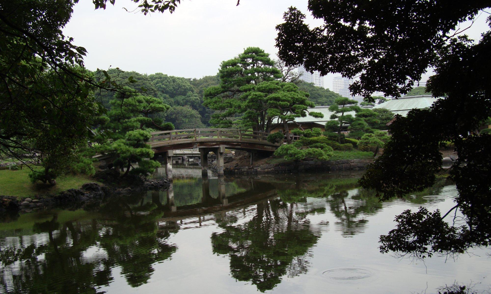 Hamarikyū garden, Tōkyō, Japan