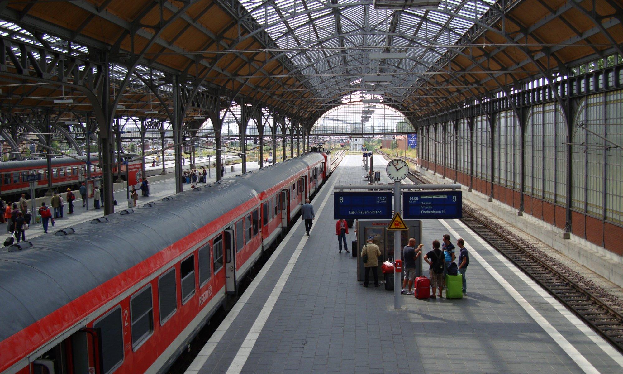Hauptbahnhof, Lübeck