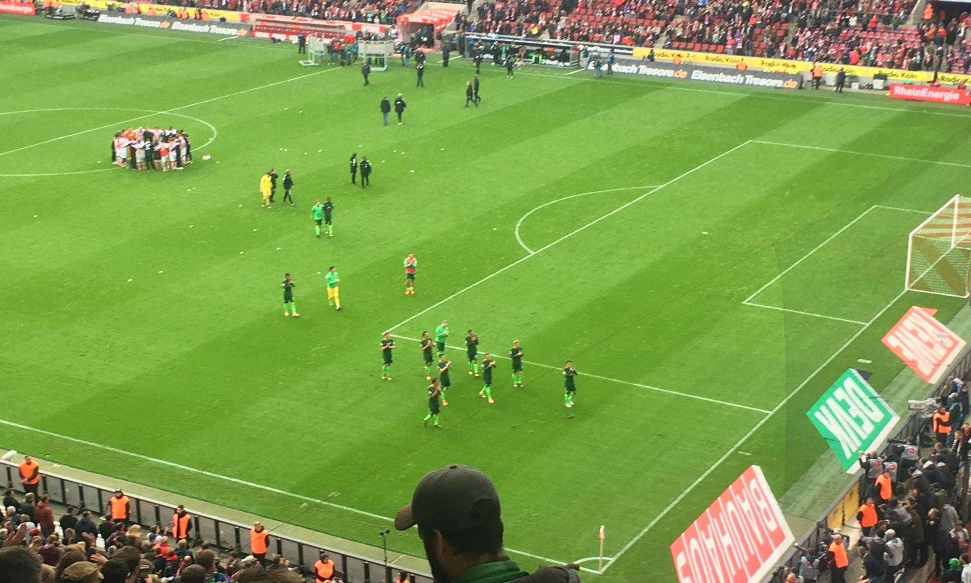 1. FC Köln - SV Werder Bremen, Müngersdorfer Stadion