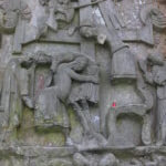 Relief 'Kreuzabnahme', Externsteine, Horn-Bad Meinberg