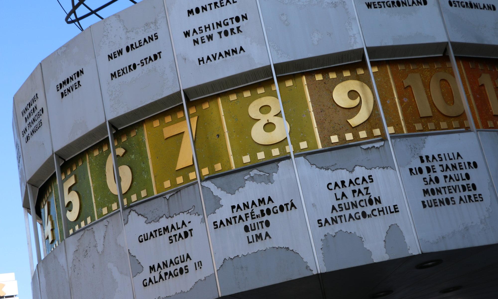 Urania-Weltzeituhr, Berlin