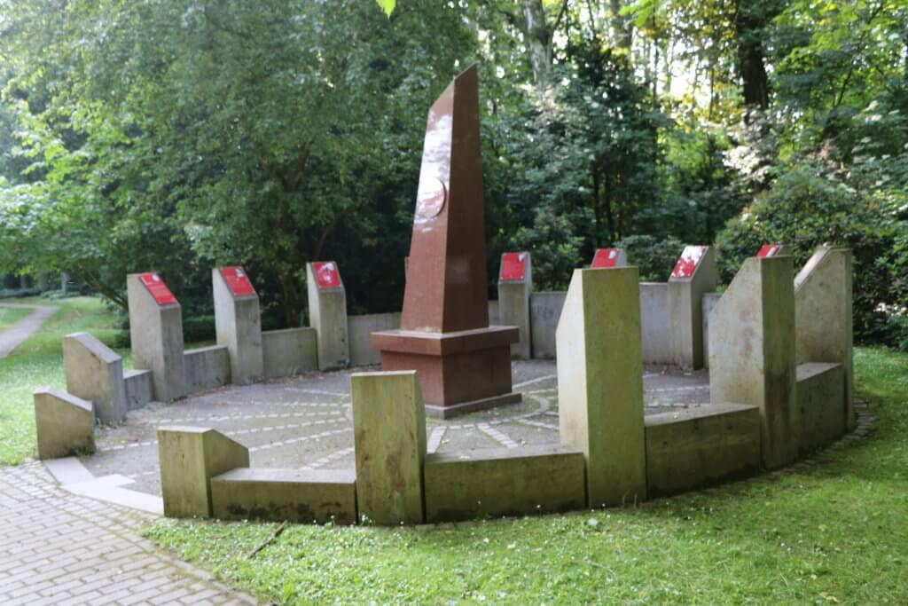 Nobellrondel, Alter Stadtfriedhof, Göttingen