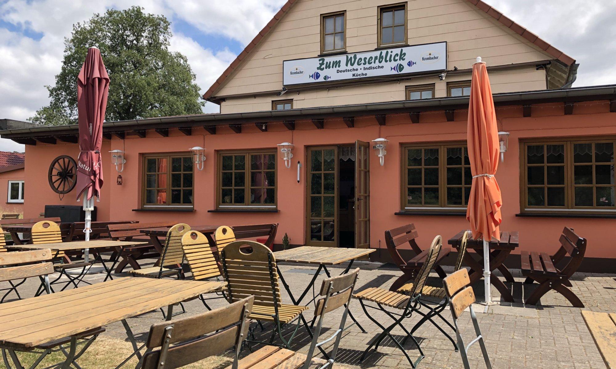 "Restaurant ""Zum Weserblick"", Gimte, Hann. Münden"