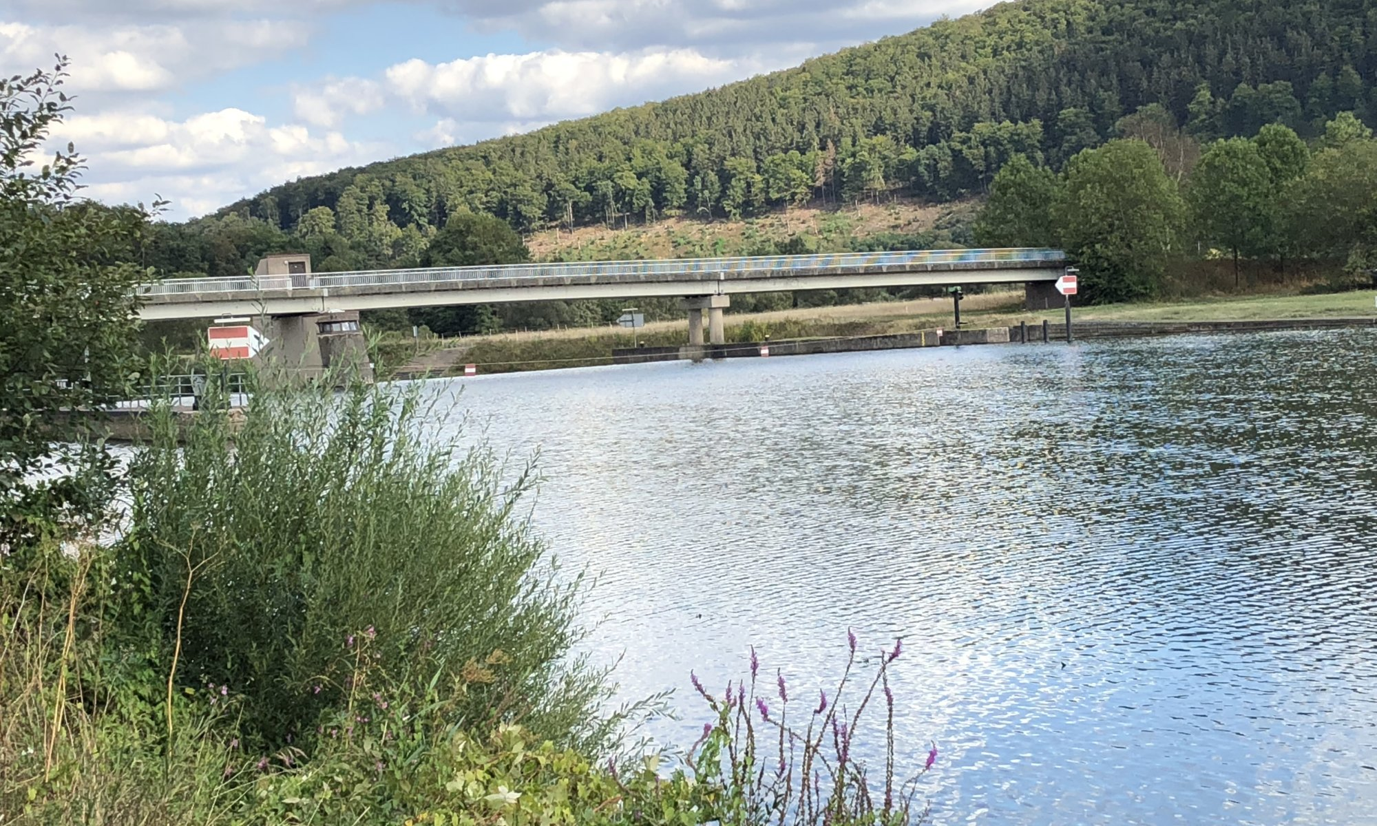 Fuldaschleuse, Wilhelmshausen, Fuldatal