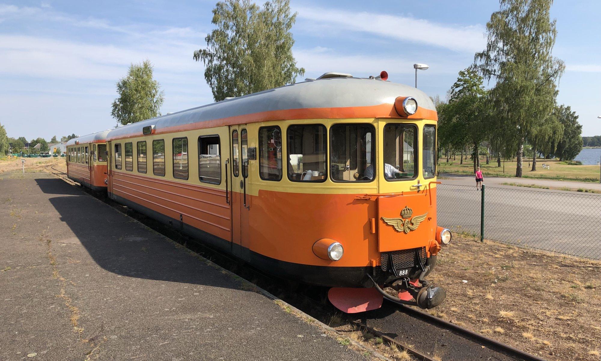 Rälsbus Hultsfred-Västervik, Hultsfred