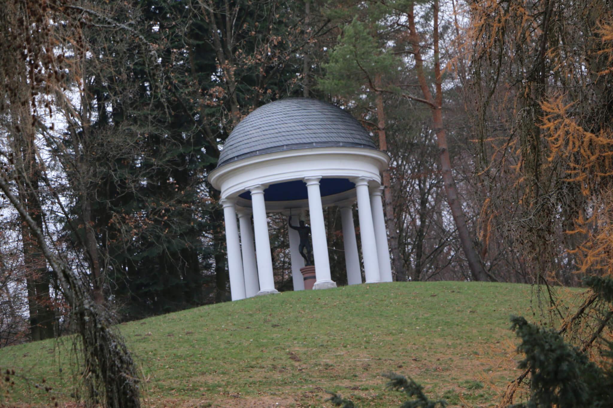 Merkur-Tempel, Bergpark Wilhelmshöhe, Kassel