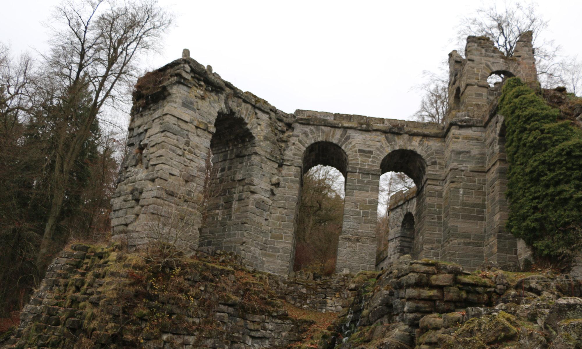 Aquädukt, Bergpark Wilhelmshöhe, Kassel