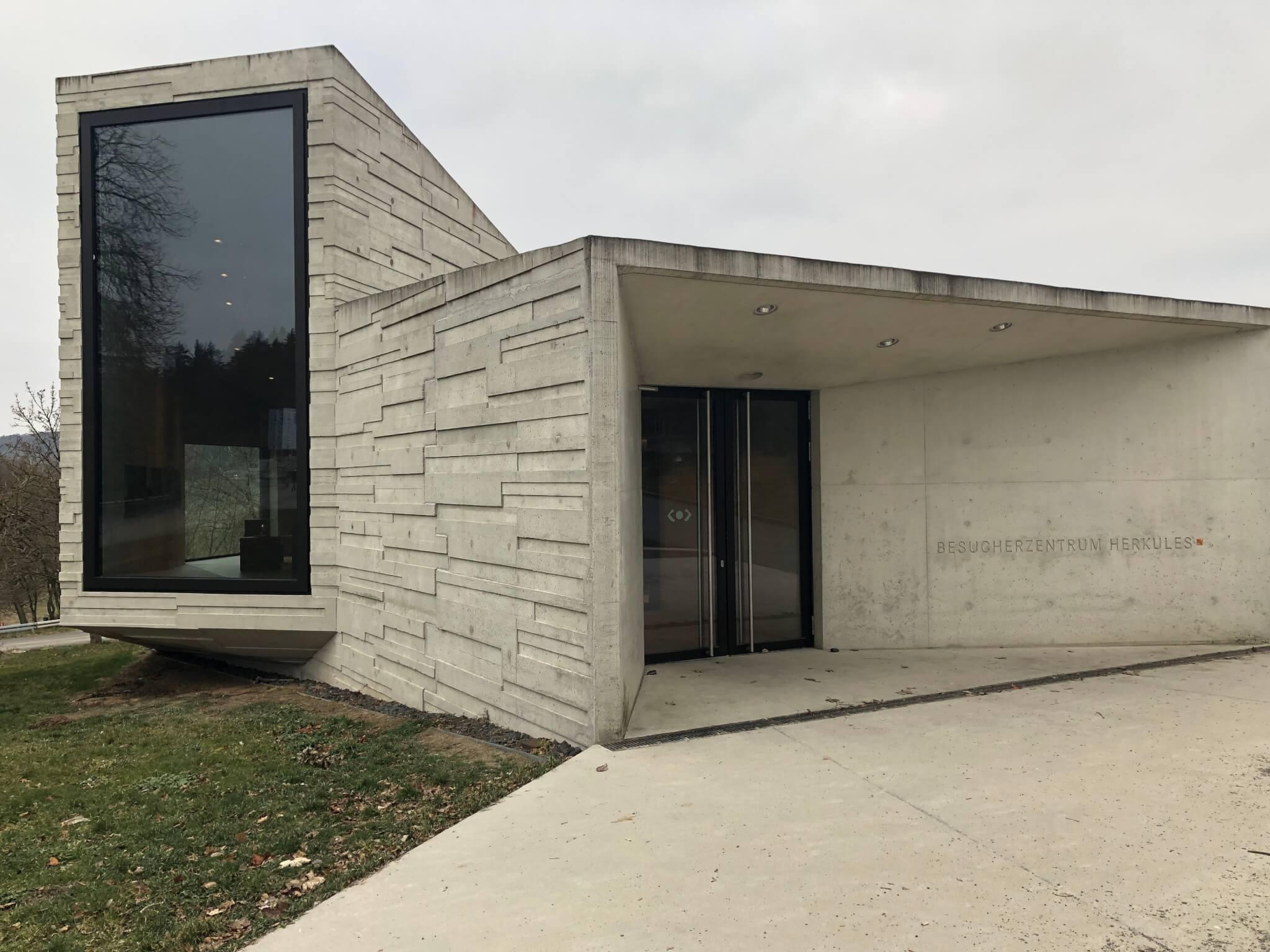 Besucherzentrum Herkules, Bergpark Wilhelmshöhe, Kassel